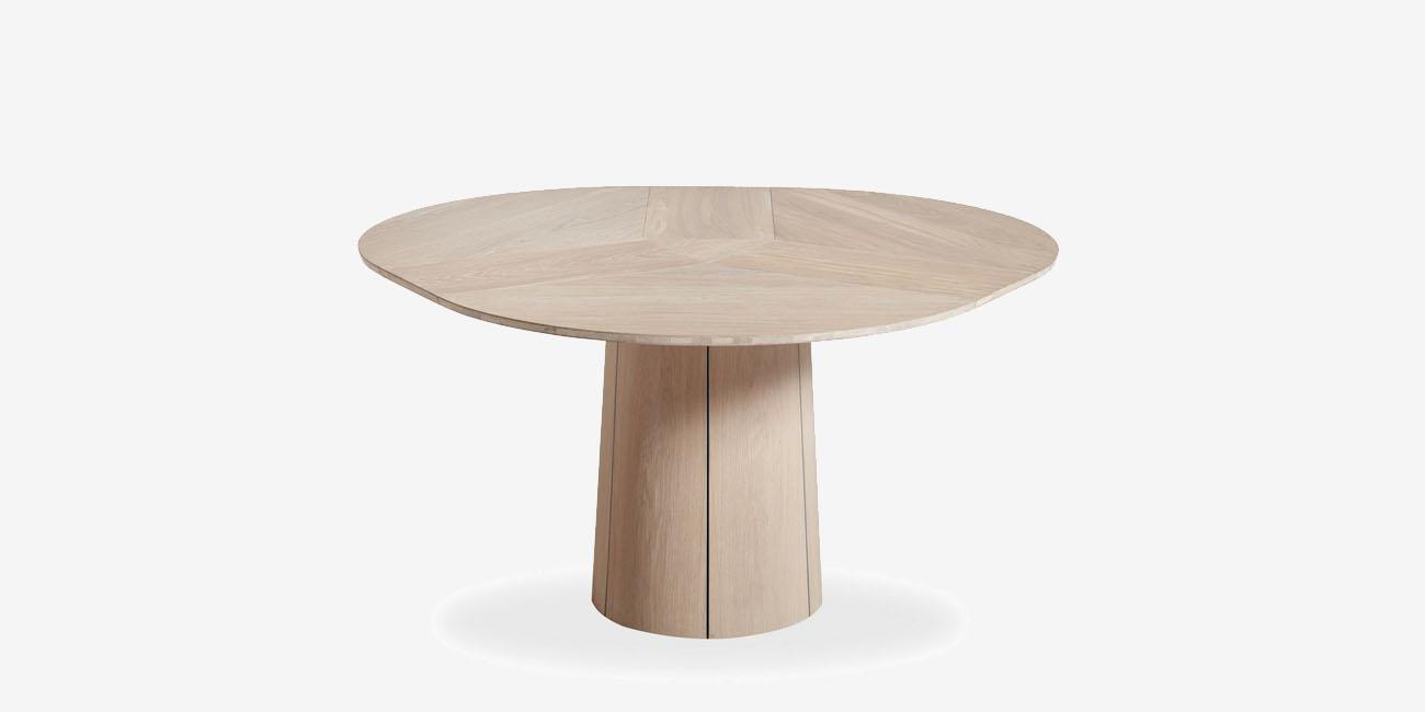 Skovby SM 33 spisebord inkl. tillægsplade